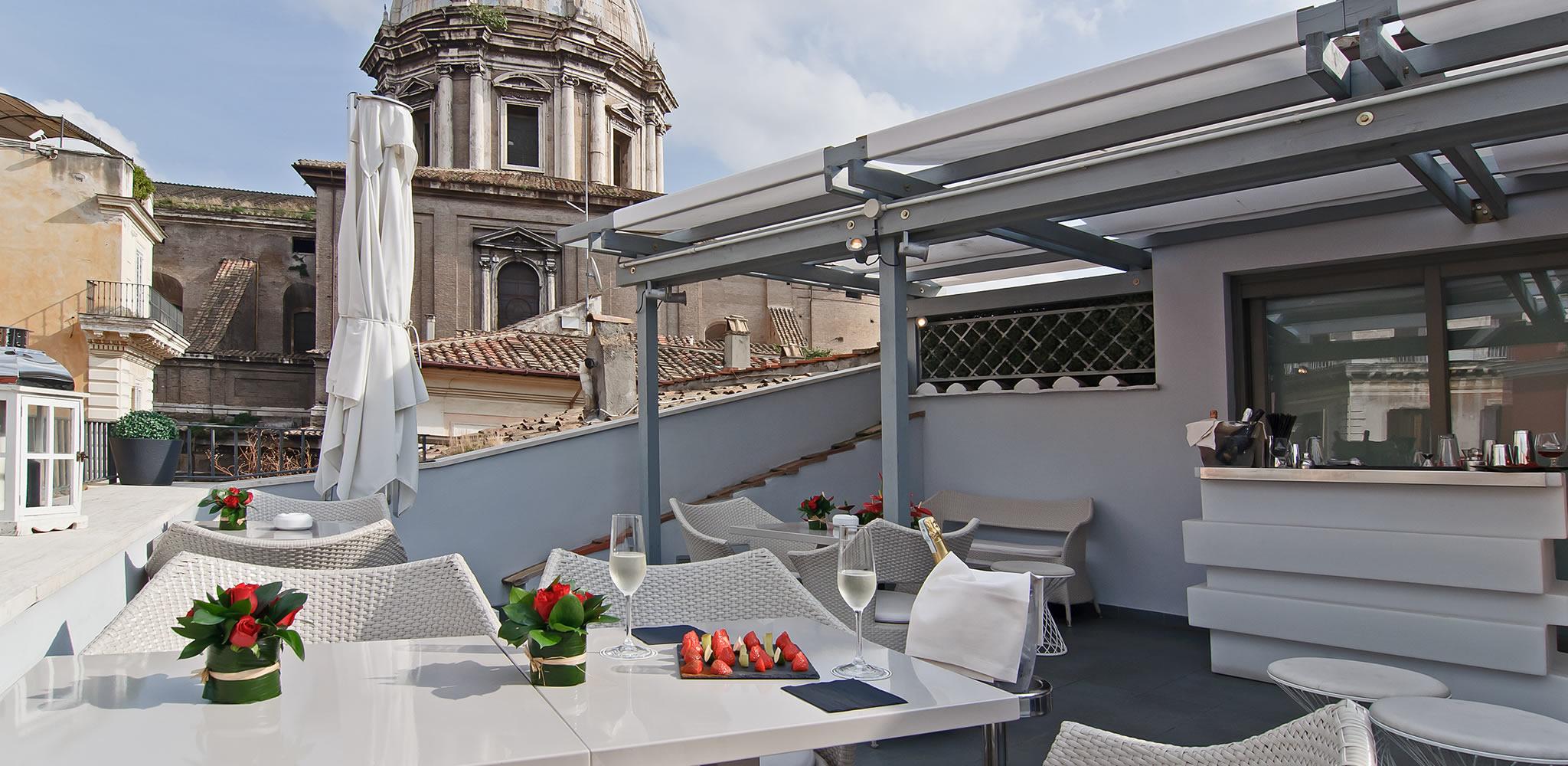 Hotel Lunetta Rome Roof Bar
